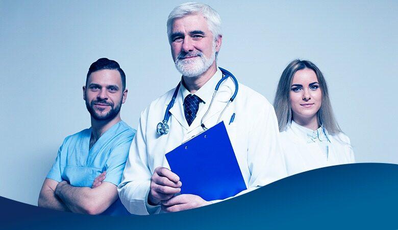 equipe médica engajada